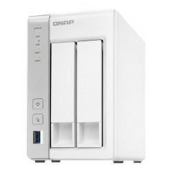 NAS QNAP TS-231P, Dual Core 1.7Ghz, DDR3 1GB, 2xLAN centro de almacenamiento
